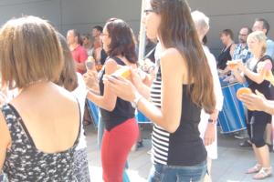 Crowd Drumming
