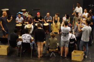 Migrants DrumCircle